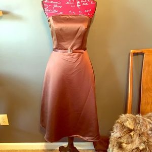 NWT Alfred Angelo Strapless Prom Dress